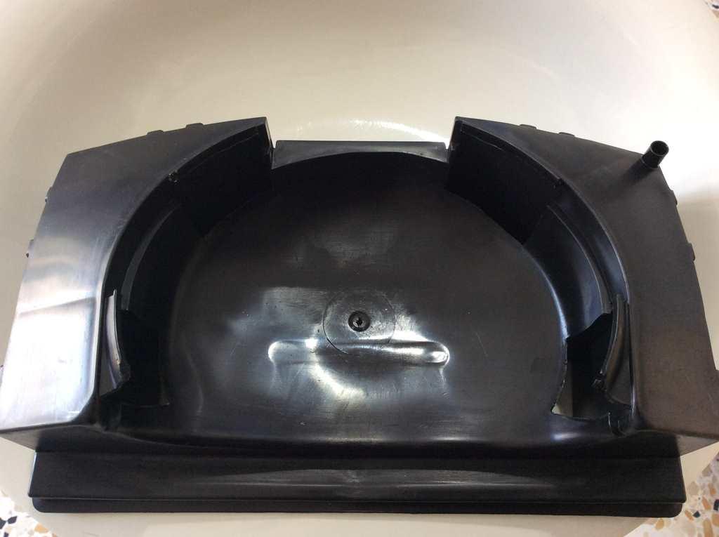 BAUKNECHT Whirlpool condensa VASCHETTA PER COMPRESSORE